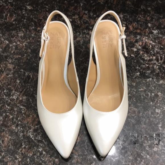 3fea6d3e49c Naturalizer Pearlescent Morgan Slingback Heels. M 5bd64f4e1b3294d7c552db1f.  Other Shoes ...